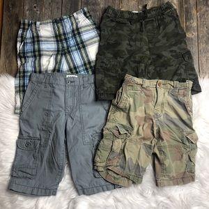 Boys Lot Shorts 10 Gap, Old Navy, Faded Glory Camo